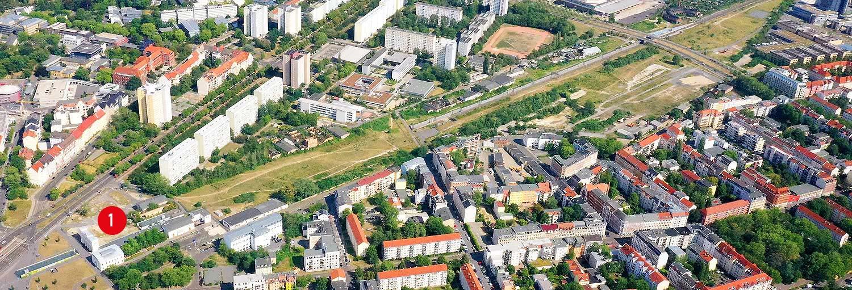 Teilgebiet 1 - Stadtraum Bayerischer Bahnhof
