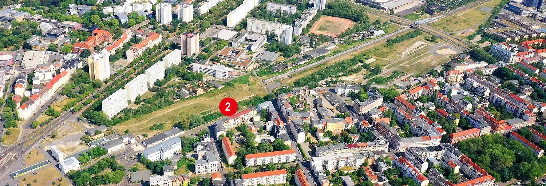 Teilgebiet 2 - Stadtraum Bayerischer Bahnhof