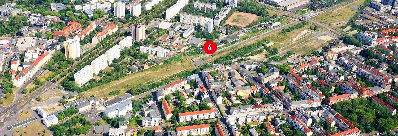 Teilgebiet 4 - Stadtraum Bayerischer Bahnhof