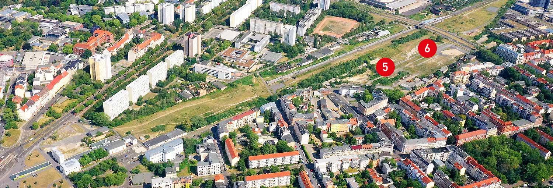 Teilgebiete 5 & 6 - Stadtraum Bayerischer Bahnhof