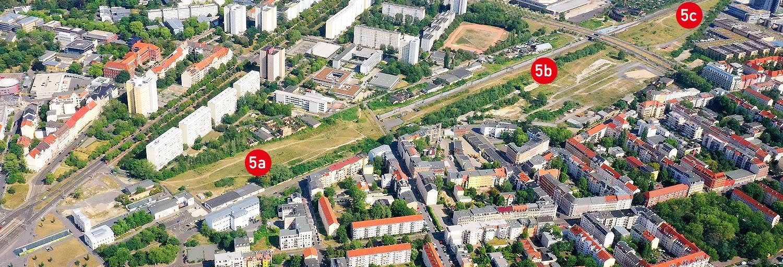 Teilgebiete 5a,b,c - Stadtraum Bayerischer Bahnhof