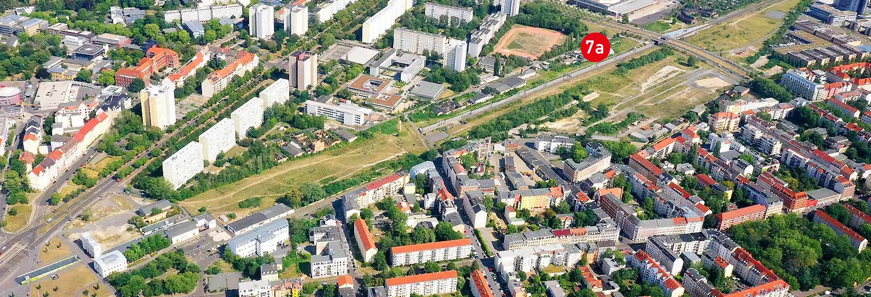 Teilgebiet 7a - Stadtraum Bayerischer Bahnhof