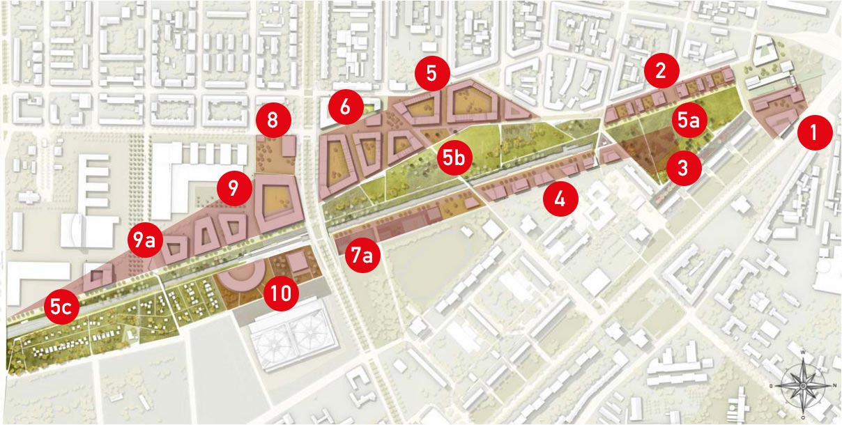 Mobile Map - Stadtraum Bayerischer Bahnhof