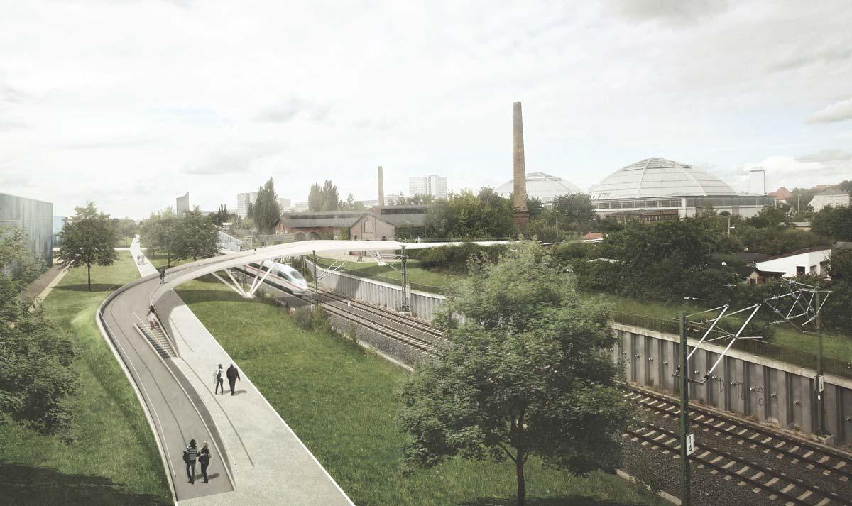 Mobilitätskonzept - Stadtraum Bayerischer Bahnhof Leipzig