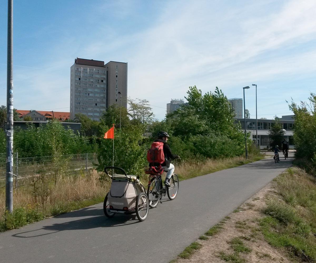 Nachhaltigkeit im Stadtraum Bayerischer Bahnhof